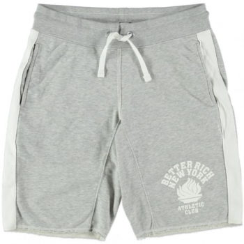 Better Rich Shorts Flame Grey Marl