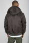 Preview: Alpha Industries MA-1 Hooded Black Olive