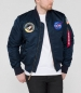 Preview: Alpha Industries MA-1 TT NASA Reversible II Rep. Blue