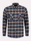 Mobile Preview: Dstrezzed Shirt Flannel Dark Navy
