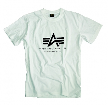 Alpha Industries Basic T-Shirt White