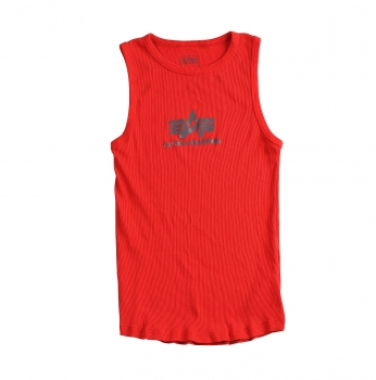 Alpha Industries Logo Tank