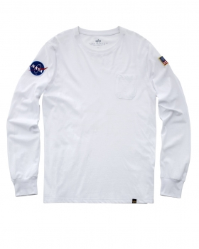 Alpha Industries NASA LS White
