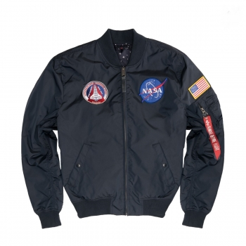 Alpha Industries MA-1 TT NASA Reversible II Rep. Blue