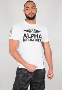 Alpha Industries Rebel T White