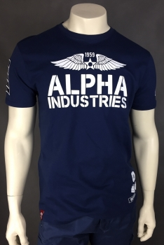 Alpha Industries Rebel T New Navy