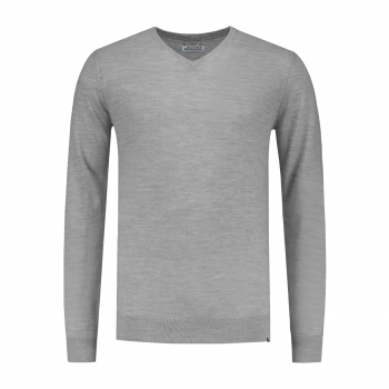 Dstrezzed Strickpullover Md. Grey Melange