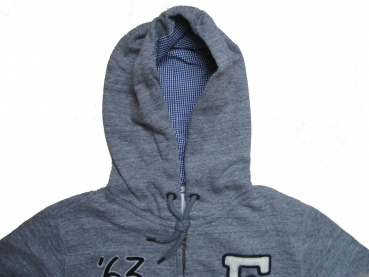 Franklin & Marshall Zip Hoodie Sport Grey