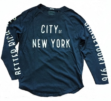 Better Rich Longsleeve Raglan NY Black