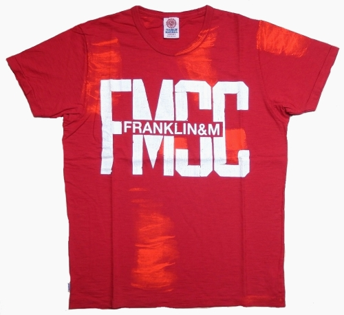 Franklin & Marshall T-Shirt Petrol Red
