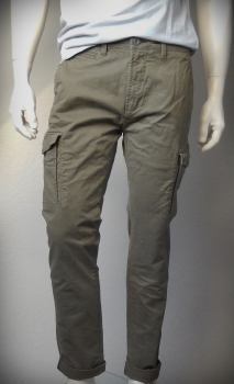 Dstrezzed Cargo Slim Pants Stretch Twill