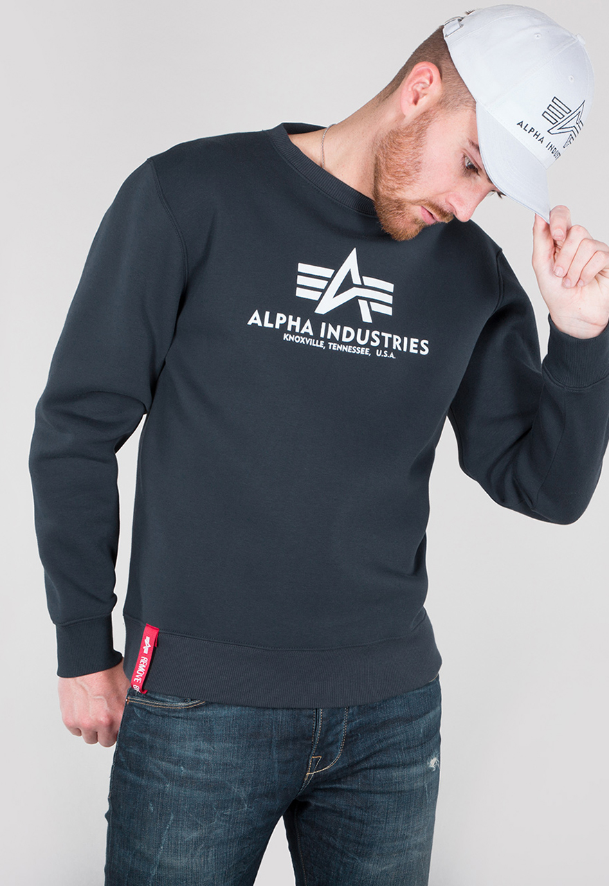 Alpha Industries Basic Sweater New Navy