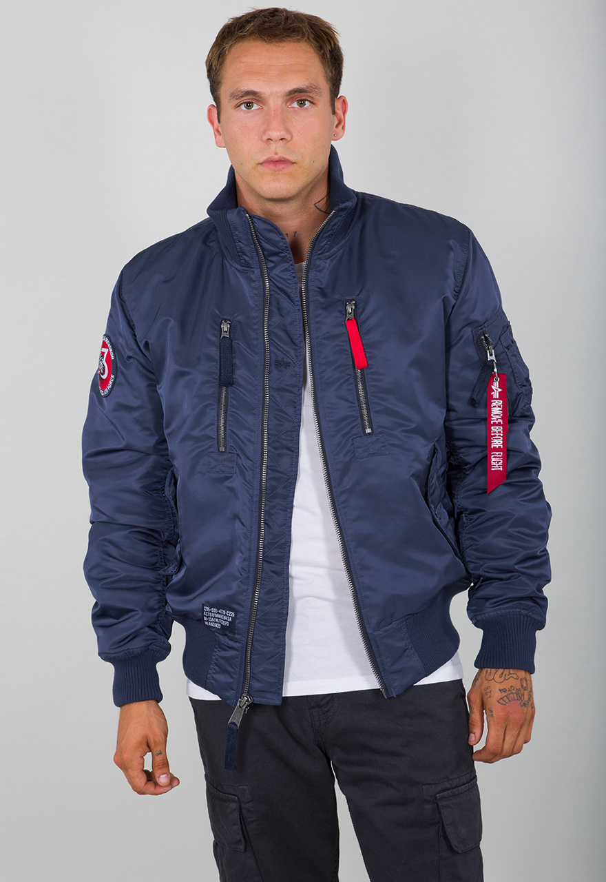 alpha industries jacke navy