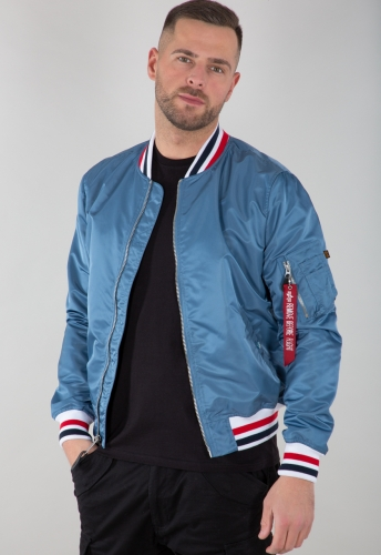 Alpha Industries MA-1 LW Tipped Airforce Blue