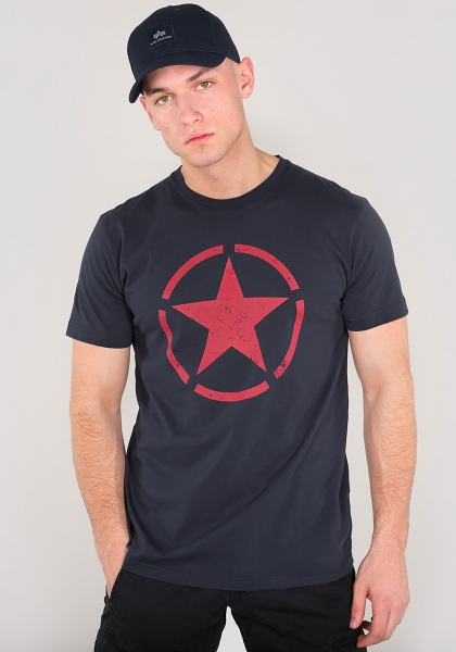 Alpha Industries Star T Repl. Blue/Red